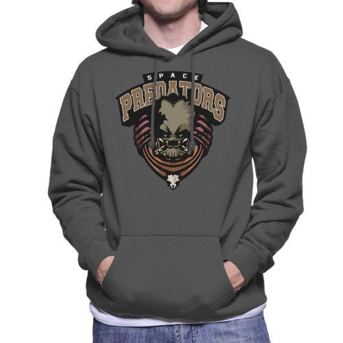 Space Predators Men's Hooded Sweatshirt