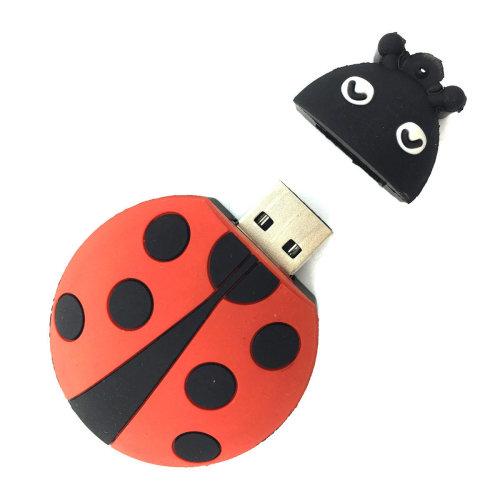 Cute Ladybird USB Flash Drive Memory Stick (16 Gb)