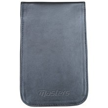 Masters Golf Deluxe Leather Golf Score Card Holder