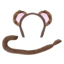 Children's Monkey Ears & Tail Set