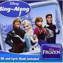 Disney Frozen Sing-Along Album | CD & Lyric Book