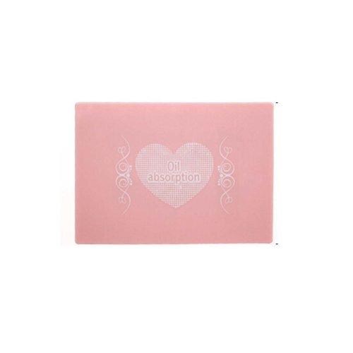 Set of 2 Oil Control Paper Men/Women Oil Blotting Paper(2*50 sheets),Pink