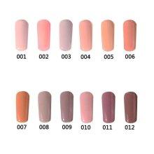 12 Colors Nano White Naked Color System UV Gel Polish Soak-off Nail Art 12ml