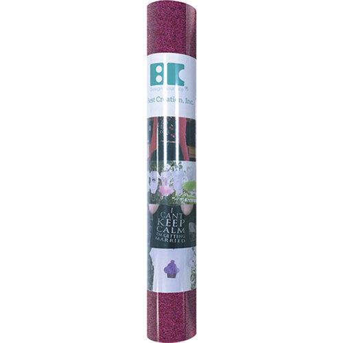 """Best Creation Glitter Iron-On Sheet 12""""X24""""-Fuchsia"""