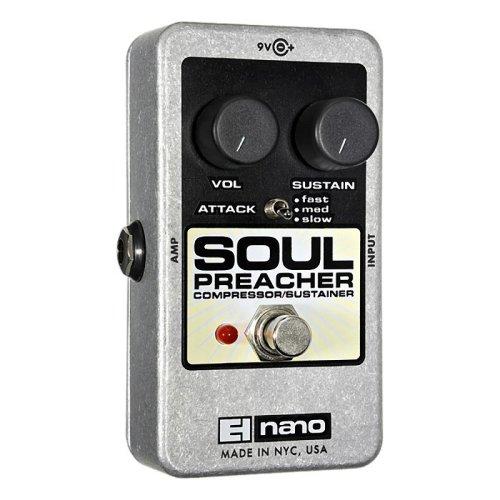 Electro Harmonix Soul Preacher Compressor/Sustainer Effect Pedal