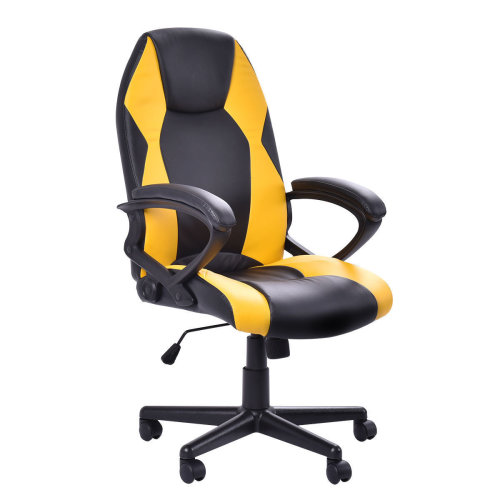 BTM Sports Racing Chair Gaming Swivel PU