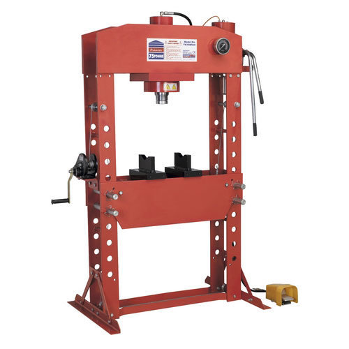 Sealey YK759FAH 75tonne Floor Type Air/Hydraulic Press with Foot Pedal