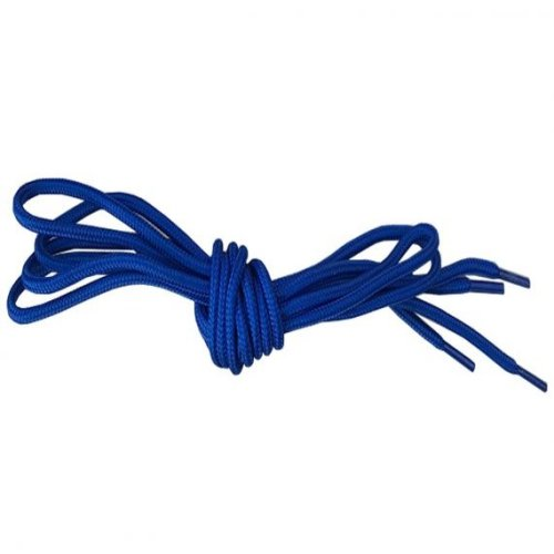 Royal Blue Round Shoelaces Strings For Trainers Football Boots