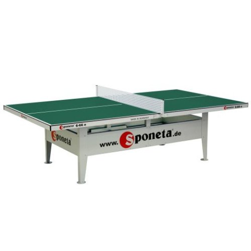 Sponeta Table Tennis Table Activeline Ourdoor Green with a 10mm Top