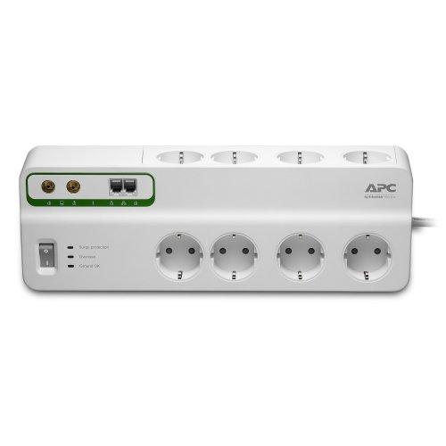APC PMF83VT-GR 8AC outlet(s) 230V 3m White surge protector