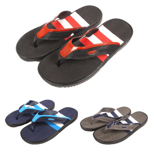 Mens Fred Sports Toe Post Flip Flop Sandals