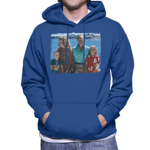 TV Times David Niven Family 1971 Men's Hooded Sweatshirt