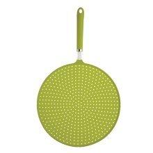 28cm Green Colourworks Silicone Splatter Screen - Guard Coloured Heat Resistant -  splatter colourworks 28cm guard green silicone coloured heat