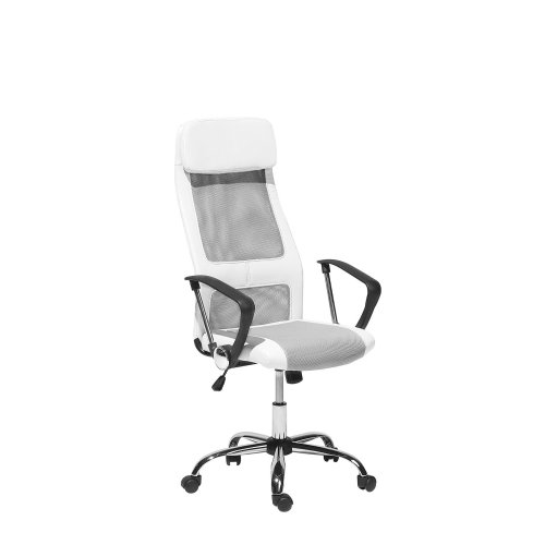 Swivel Office Chair White PIONEER