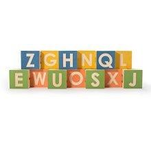 Uncle Goose Uppercase and Lowercase Alphabet Blocks Set