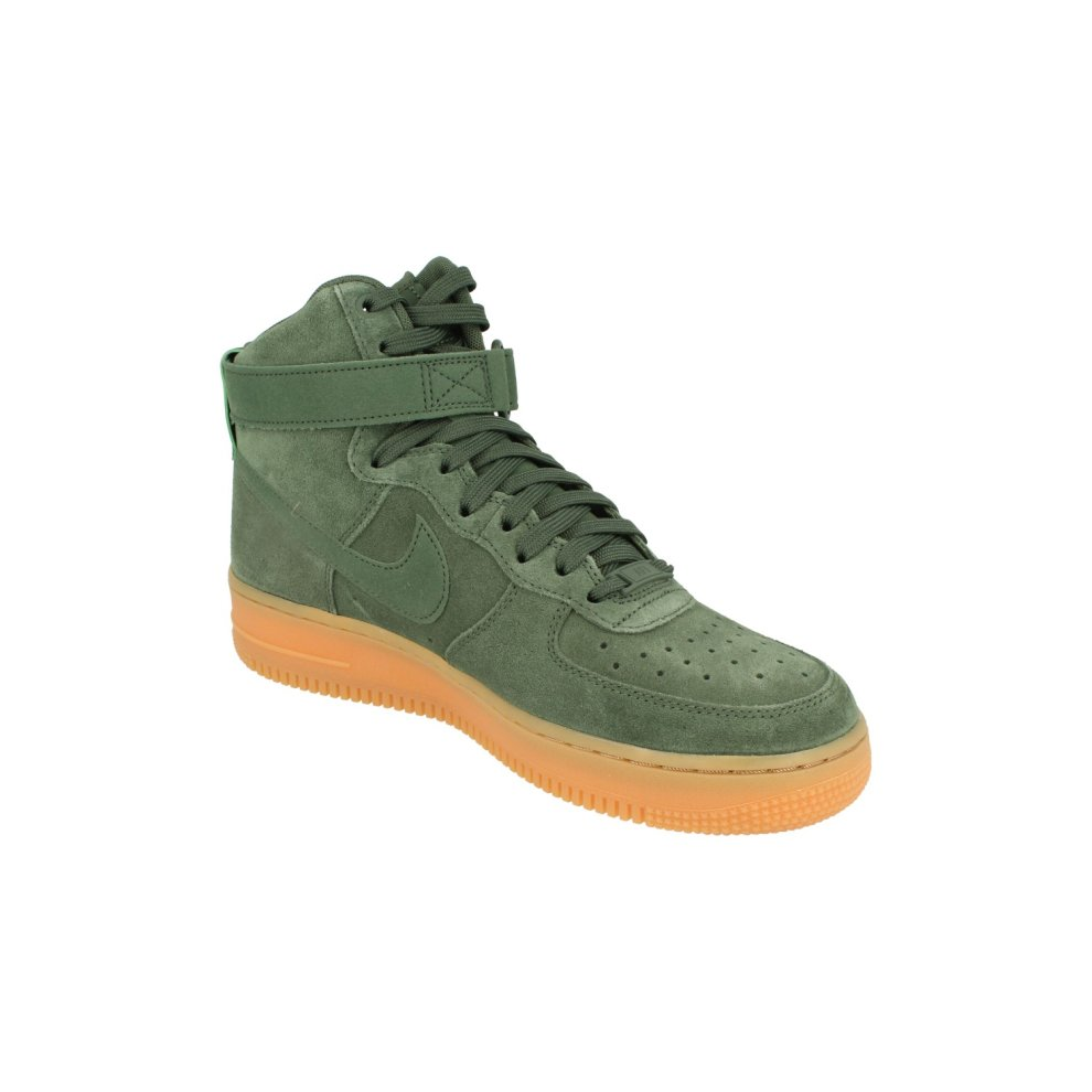 new style d583c f04dc ... Nike Air Force 1 High 07 LV8 Suede Mens Hi Top Trainers Aa1118 Sneakers  Shoes ...