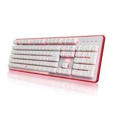 1stPlayer Fire Dancing GK3 Hybrid Mechanical Keyboard -White