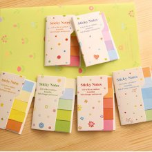 Rainbow Coloured Mini Sticky Notes