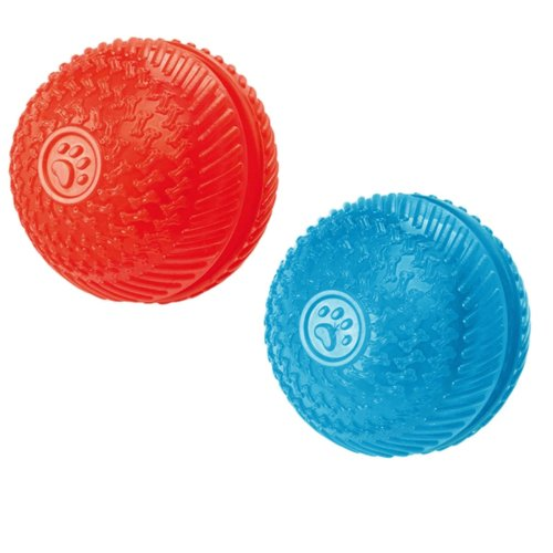 Gor Pets Dog Toy, Gor Flex Squeaky Treat Ball 8cm