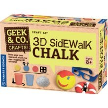 Geek & Co. Craft 3D Sidewalk Chalk