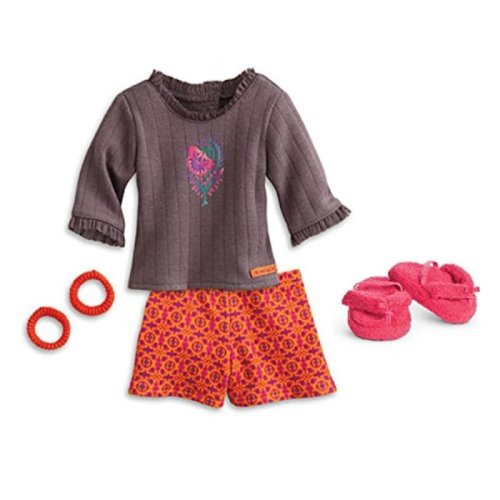 "American Girl Saige - Saiges Pajamas for 18"" Dolls - American Girl of 2013"
