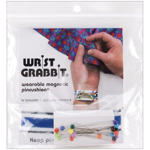 Wrist Grabbit Magnetic Pincushion-W/20 Pins