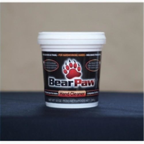 Bear Paw BP616 12 oz Tub Hand Cleaner - Deep Cleaning, Water Activated, Non-Toxic & Petroleum Free - Case of 6