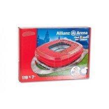 Nanostad 3D Puzzle - Allianz Arena, Bayern