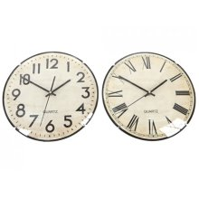 30cm Assorted Round Wall Clock - One Supplied -  30cm assorted round wall clock