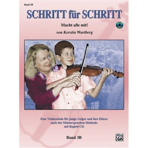 Alfred Music 00-28075GER Step by Step 3B, Book & CD