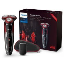 Philips Star Wars Special Edition Dark Side Wet & Dry Men's electric Shaver Gift Pack (UK 2-Pin Bathroom Plug)