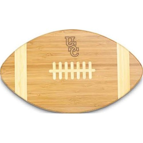 Picnic Time 896-00-505-523-0 University of South Carolina Gamecocks Engraved Touchdown Cutting Board, Natural