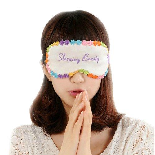 Double Sided Silk Eyeshade Sleep Eye Mask Beautiful Soft Eye Mask